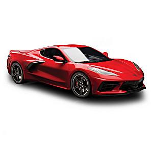 1:18-Scale 2020 Chevrolet Corvette C8 Sculpture