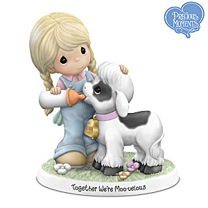 Precious Moments Together We're Moo-velous Figurine