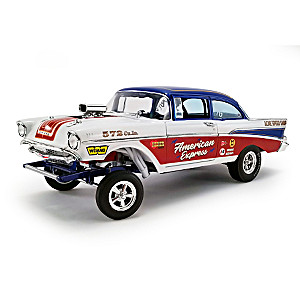 1:18-Scale 1957 Bel Air Gasser American Express Diecast Car