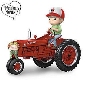 Precious Moments All Aboard The Happy Hayride Figurine