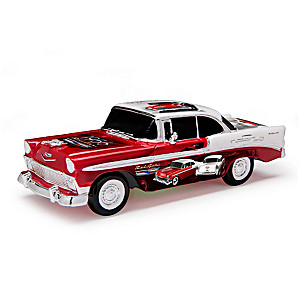 """""""The Hot One"""" 1:18-Scale 1956 Chevrolet Bel Air Sculpture"""