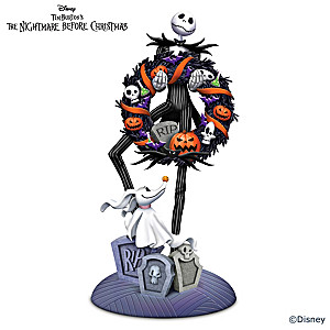 The Nightmare Before Christmas Spooky Celebration Sculpture