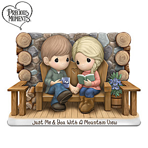 "Precious Moments ""Just Me & You"" Porcelain Figurine"