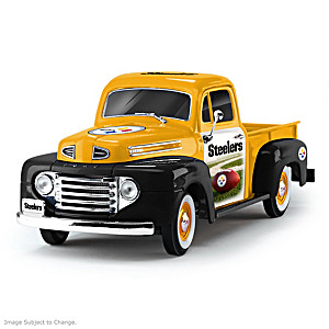 1:18-Scale Steelers 1948 Ford Pickup Truck Sculpture