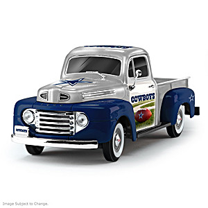 1:18-Scale Cowboys 1948 Ford Pickup Truck Sculpture