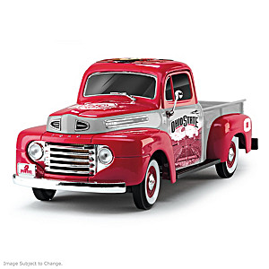 1:18-Scale Buckeyes 1948 Ford Pickup Truck Sculpture