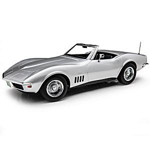 1:18-Scale 1969 Chevrolet Corvette Convertible Diecast Car