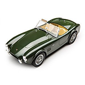 British Racing Green 1963 AC Cobra 289 Diecast Car