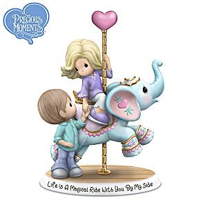 Precious Moments Carousel Couple Figurine