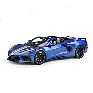 1:18-Scale 2021 Chevrolet Corvette Stingray Sculpture