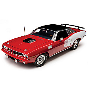 1:18-Scale 1971 Plymouth HEMI Cuda Diecast Car