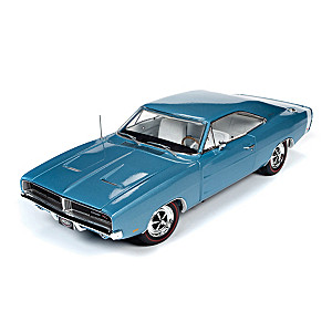 1:18-Scale 1969 Dodge Charger R/T Hardtop Diecast Car