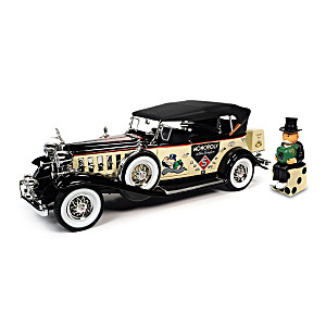 "1932 Cadillac V16 Sport Phaeton ""Mr. Monopoly"" Diecast Car"