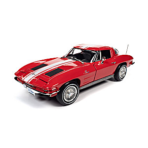 1:18-Scale 1963 Chevrolet Corvette Z06 Coupe Diecast Car