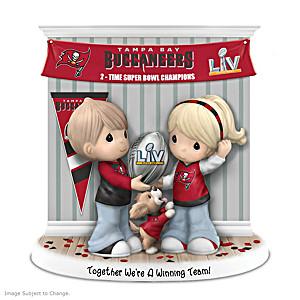Super Bowl LV Champions Buccaneers Porcelain Figurine