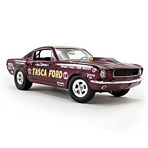 1:18-Scale 1965 Mustang A/FX Tasca Ford Diecast Car