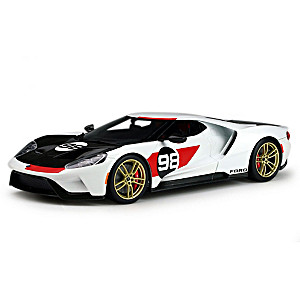 2021 Ford GT Daytona-Inspired Heritage Edition Sculpture