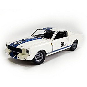 1:18-Scale 1965 Shelby Mustang GT350R Prototype Diecast Car