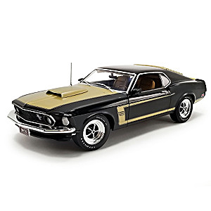 1:18-Scale 1969 Ford Mustang Boss 429 Prototype Diecast Car