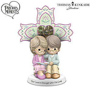 """""""Our Love Is Stronger With The Lord"""" Porcelain Figurine"""