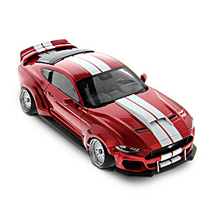 1:18-Scale Diecast Mustang GT With Wide Body Conversion Kit