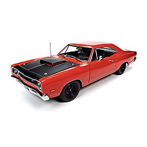 1:18-Scale 1969.5 Dodge Super Bee Hardtop Diecast Car
