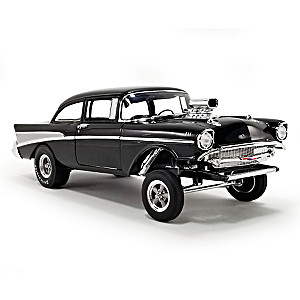 1:18-Scale Bel Air Gasser Diecast Car With Removeable Hood