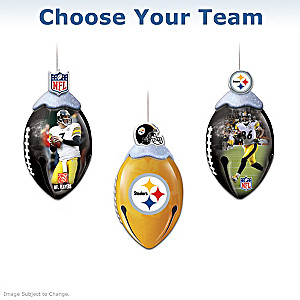 """Choose Your Team"" NFL Jingle Bell Ornament Collection"