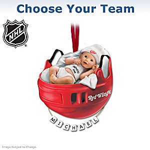 """Choose Your Team"" NHL® Baby's First Ornament"