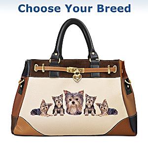 """Fashion's Best Friend"" Satchel Handbag: Choose Your Breed"