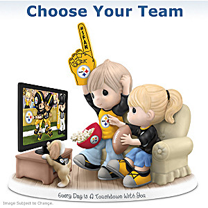 Choose Your NFL Team: Precious Moments Porcelain Figurine