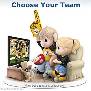Choose Your NFL Team: Precious Moments Porcelain Figurine