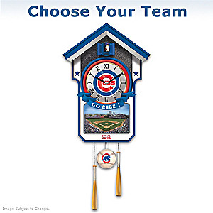 MLB Team Tribute Wall Clock: Choose Your Team