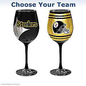 NFL Wine Glass Collection: Choose Your Team