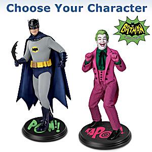 BATMAN Classic TV Series BATMAN And JOKER Portrait Figures