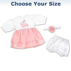 Baby Doll Holiday Outfits Collection: Choose Your Size