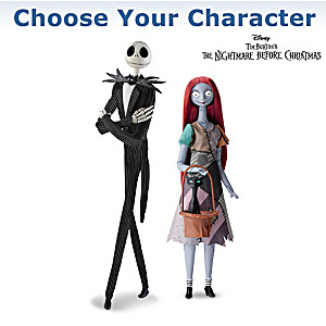 Sally And Jack Collector's Edition Singing Portrait Figures