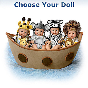Noah's Adorable Ark Miniature Baby Doll: Choose Your Doll
