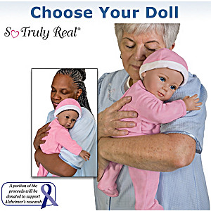 Therapy Doll For Memory Care Individuals: Choose Your Doll