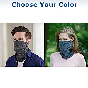Antibacterial Cooling Gaiter Scarf With 5 Removable Filters