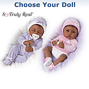 Linda Murray Lifelike Vinyl Baby Doll: Choose Your Baby Doll
