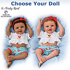 Violet Parker Interactive Baby Doll: Choose Your Doll