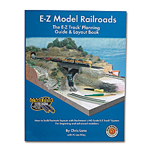 E-Z Track Model Railroads Planning Guide And Layout Book