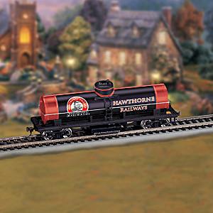 Railways Track Cleaning Tanker Train Car For HO-Gauge Tracks