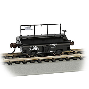 HO-Scale Baltimore & Ohio Test Weight Train Car