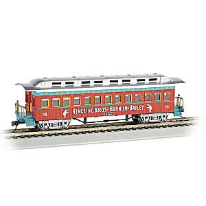 Ringling Bros And Barnum & Bailey HO-Scale Coach Train Car