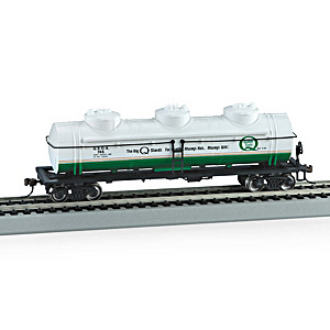 HO-Scale Quaker State Three-Dome Tank Train Car