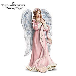 "Breast Cancer Awareness ""Messenger Of Hope"" Angel Figurine"