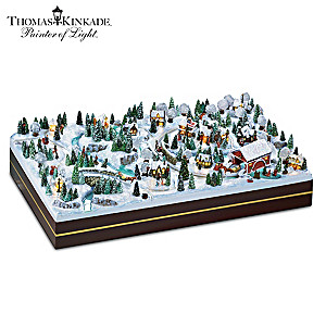 Thomas Kinkade Winter Wonderland Lighted Miniature Village