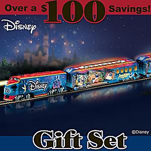 """Disney Movie Magic Express"" Illuminated Train Set"